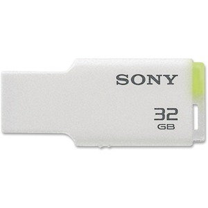 Sony 32GB USB Micro Vault TINY (White) SONUSM32GMW