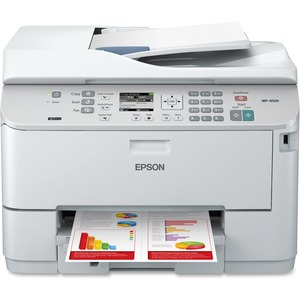 Epson WorkForce Pro WP-4520 Inkjet Multifunction Printer - Color - Plain Paper Print - Desktop EPSC11CB28201