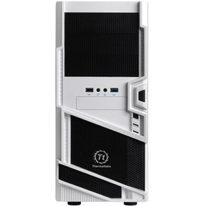 Thermaltake Commander MS-I Snow Edition ATX Mid Tower Case WHITE/BLACK 1X3.5EXT 5X3.5INT No PSU