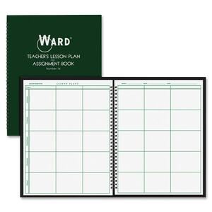 Ward Teacher's 6-period Lesson Plan Book HUB16