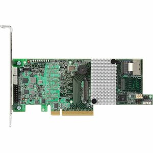 LSI MegaRAID 9266-4I 4 Port 6Gbps PCIEx8 1GB DDR3 Low Profile SAS/SATA/RAID Controller Card Kit