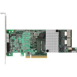 LSI MegaRAID 9266-8I 8 Port 6Gbps PCIEx8 1GB DDR3 Low Profile SAS/SATA/RAID Controller Card Kit