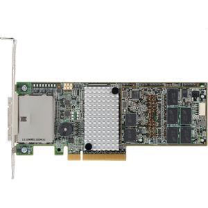 LSI MegaRAID 9285CV-8E 8 Port 6Gbps PCIEx8 1GB DDR3 Low Profile SAS/SATA/RAID Controller Card Single