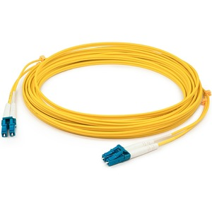 AddOn - Network Upgrades 10M Single-Mode Fiber (SMF) Duplex LC/LC Patch Cable - Fiber Optic for Network Device - 10m - 2 x LC Male Network - 2 x LC Male Network - Yellow