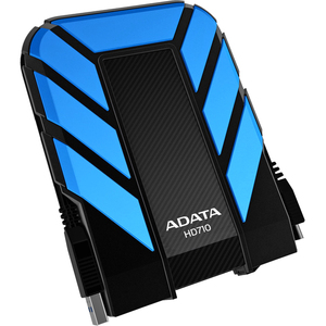 ADATA DashDrive Durable Series 500GB 2.5IN USB3.0 External Hard Drive Shock and Waterproof - Blue