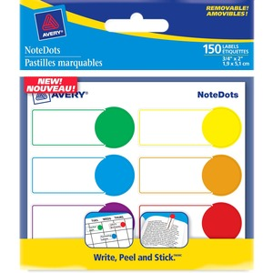 NoteDots Color Coded Label