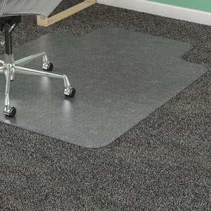 Lorell Medium-pile Carpet Chairmats LLR82823