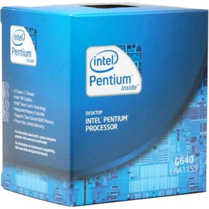 Intel Pentium G640 Dual Core 2.8GHZ 3MB L3 Cache LGA1155 Processor Retail Box