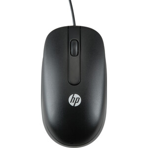 HP USB 1000dpi Laser Mouse - Laser - Cable - Black - USB - 1000 dpi - Scroll Wheel - 3 Button(s) - Symmetrical