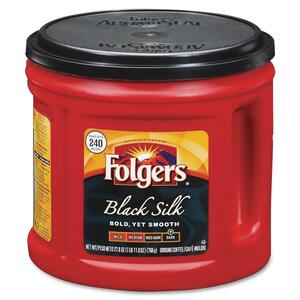 Folgers Black Silk Regular Coffee Ground FOL00377