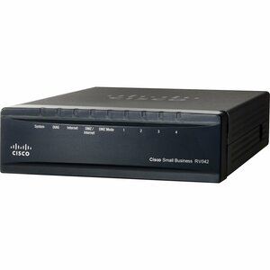 Cisco RV042G Dual WAN VPN Router - 6 Ports - Desktop