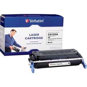 Verbatim HP C9720A Remanufactured Black Toner Cartridge for 4600, 4650 Series VER94956