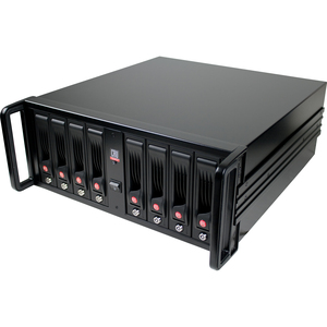 CRU RAX RAX840-XJ DAS Array - 8 x HDD Installed - 24 TB Installed HDD Capacity - RAID Supported - 8 x Total Bays - Mini-SAS - 4U Rack-mountable