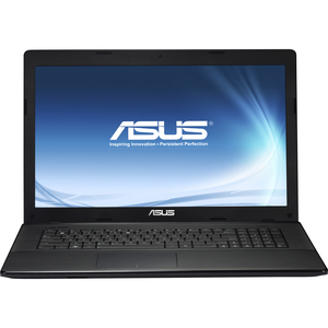 ASUS X75A-QB91 Intel Pentium B970 4GB 500GB 17.3in DVDRW HDMI WIN7HP Notebook Black