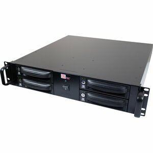 CRU RAX RAX421-XJ DAS Array - RAID Supported - 4 x Total Bays - Mini-SAS - 2U Rack-mountable