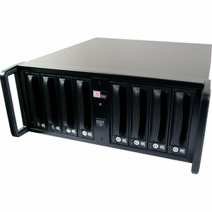 CRU RAX RAX841-XJ DAS Array - RAID Supported - 8 x Total Bays - Mini-SAS - 4U Rack-mountable