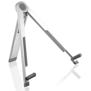 ALURATEK UNIVERSAL TABLET STAND HOLDER ALUMINUM SUPPORTS ALL TABLETS