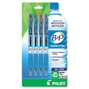Pilot B2P Recycled Water Bottle Ball Point Pen PIL32811