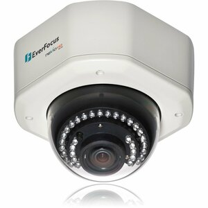 EverFocus Network Camera - Color - 3x Optical - CMOS - Cable - Fast Ethernet