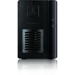 Iomega Storcenter IX2 2 Bay 4TB (2X2TB) Network Storage