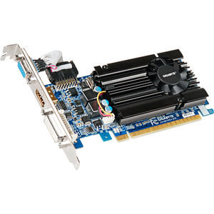 Gigabyte HD Experience GV-N610D3-2GI GeForce GT 610 Graphic Card - 810 MHz Core - 2 GB DDR3 SDRAM - PCI Express 2.0 x16 - Low-profile - 1333 MHz Memory Clock - 2560 x 1600 - Passive Cooler - OpenGL 4.2, DirectX 11.0 - HDMI - DVI - VGA