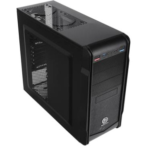Thermaltake Versa I ATX Mid Tower Case Black 3X5.25 1X3.5 5X3.5INT Front USB3.0 Audio No PSU