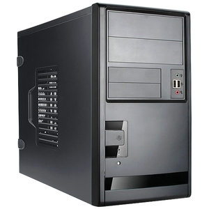 Inwin EM013 mATX Case 2X5.25 2X3.5 2X3.5INT Front USB3.0 Audio No PSU