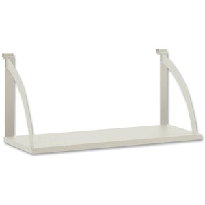 Partition Mounted Shelves