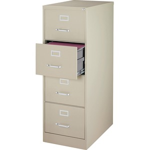 Lorell Commercial Grade 28.5'' Legal-size Vertical Files LLR88045