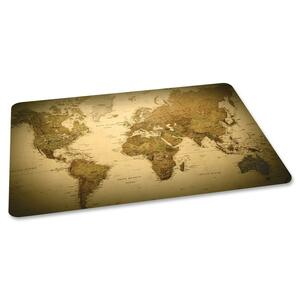 ES Robbins World Map Design straight Edge Chair Mat ESR118699