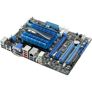 Asus E45M1-M PRO Desktop Motherboard - AMD A50M Chipset - Micro ATX - 8 GB DDR3 SDRAM Maximum RAM - Serial ATA/600 - On-board Video Chipset - 1 x PCIe x16 Slot - 2 x USB 3.0 Port - HDMI