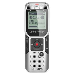 Philips Voice Tracer Digital Recorder with 2Mic Stereo Recording PSPDVT150000