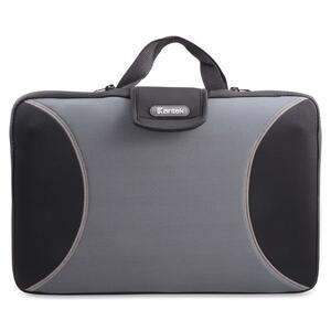 "Kantek Carrying Case for 15.6"" Notebook - Black, Gray KTKLGCC425G"