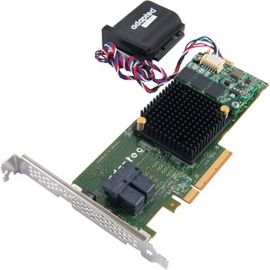 Adaptec 7805Q 8 Int Port RAID SATA/SAS 2.0 6GB/S W/1024MB Cache PCI-E 3.0 Controller Single