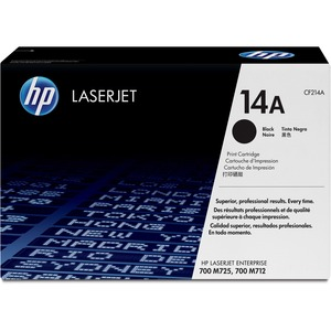 HP 14A Black Original LaserJet Toner Cartridge HEWCF214A