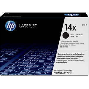 HP 14X High Yield Black Original LaserJet Toner Cartridge HEWCF214X