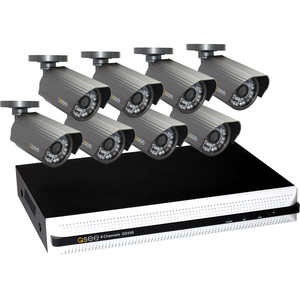 Q-see 8 Channel DVR | Real-time | D1 Resolution |1 Terabyte HDD - 8 x Camera, Digital Video Recorder - H.264 Formats - 1 TB Hard Drive