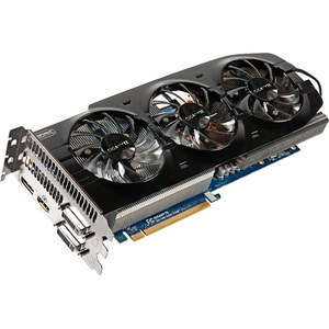 Gigabyte Ultra Durable VGA GV-N670OC-4GD GeForce GTX 670 Graphic Card - 980 MHz Core - 4 GB GDDR5 SDRAM - PCI Express 3.0 x16 - 6008 MHz Memory Clock - 2560 x 1600 - SLI - Fan Cooler - DirectX 11.0, OpenGL 4.2 - HDMI - DisplayPort - DVI