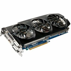 Gigabyte Ultra Durable VGA GV-N66TOC-3GD GeForce GTX 660 Ti Graphic Card - 1032 MHz Core - 3 GB GDDR5 SDRAM - PCI Express 3.0 x16 - 6008 MHz Memory Clock - 2560 x 1600 - SLI - Fan Cooler - DirectX 11.0, OpenGL 4.3 - HDMI - DisplayPort - DVI