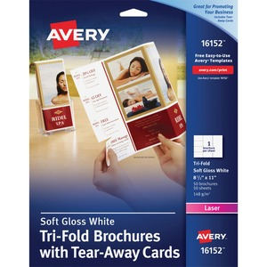 Avery Brochure/Flyer Paper AVE16152
