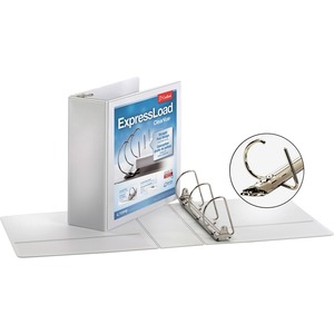 Cardinal ExpressLoad ClearVue Locking D-Ring Binder CRD49130