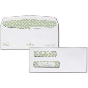 Quality Park Sugarcane Paper Double Window Envelopes QUA24533