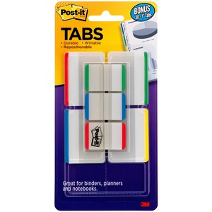 Post-it Durable Index Tabs MMM686VAD1
