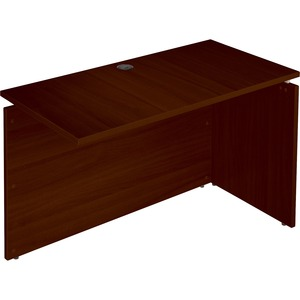 Lorell Concordia Laminate Desk Ensemble LLR81941