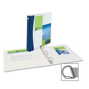 Avery Comfort Touch Color Spine Slant-D View Binder AVE17437