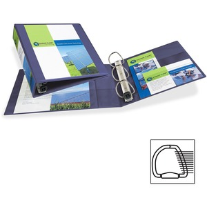 1-Touch Hvy-duty EZD Lock Ring View Binder