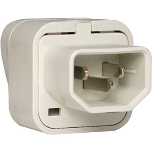 UNIPLUGINT IEC-320 C13 OUTLET ADAPTER FOR INTL PLUGS FR GER UK