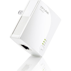 TP-LINK AV200 Nano Powerline Adapter - 1 x Network (RJ-45) - 25 MBps Powerline - 984.25 ft Distance Supported - HomePlug AV - Fast Ethernet