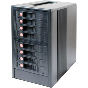 CRU RTX RTX800-XJ DAS Array - 24 TB Installed HDD Capacity - RAID Supported - 8 x Total Bays - Mini-SAS Tower