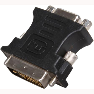 Rosewill RA-VGA-DVI-D 25pin (24+1) DVI-D Male to 15pin VGA Female Adapter - 1 Pack - 1 x DVI-D Male Digital Video - 1 x HD-15 Female VGA - Black